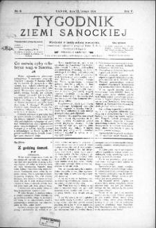 Tygodnik Ziemi Sanockiej, 1914, nr 9