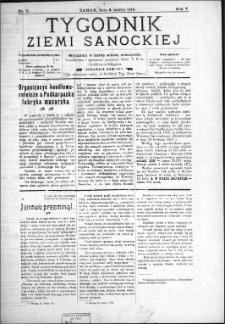 Tygodnik Ziemi Sanockiej, 1914, nr 11