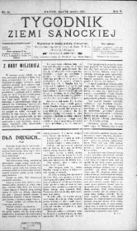 Tygodnik Ziemi Sanockiej, 1914, nr 14