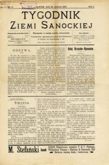Tygodnik Ziemi Sanockiej, 1910, nr 8