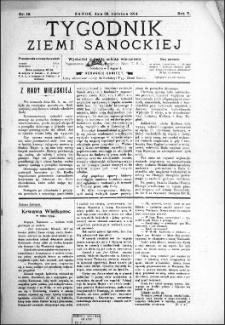 Tygodnik Ziemi Sanockiej, 1914, nr 18