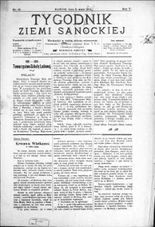 Tygodnik Ziemi Sanockiej, 1914, nr 19