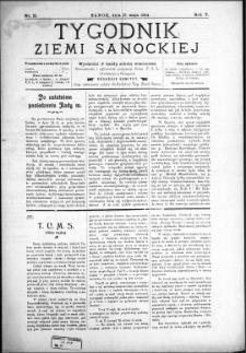 Tygodnik Ziemi Sanockiej, 1914, nr 21