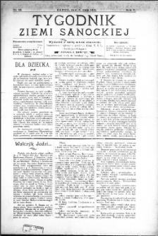 Tygodnik Ziemi Sanockiej, 1914, nr 23