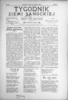 Tygodnik Ziemi Sanockiej, 1914, nr 27