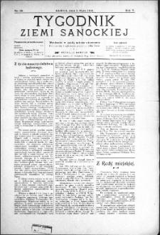 Tygodnik Ziemi Sanockiej, 1914, nr 28