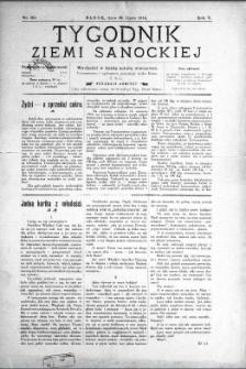Tygodnik Ziemi Sanockiej, 1914, nr 30