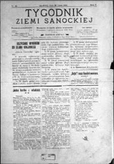 Tygodnik Ziemi Sanockiej, 1914, nr 31