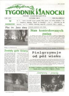 Tygodnik Sanocki, 1996, nr 1