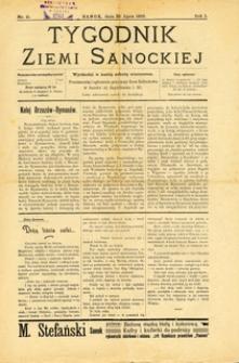 Tygodnik Ziemi Sanockiej, 1910, nr 11