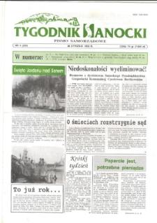 Tygodnik Sanocki, 1996, nr 4