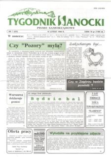 Tygodnik Sanocki, 1996, nr 7