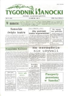 Tygodnik Sanocki, 1996, nr 16