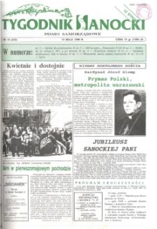 Tygodnik Sanocki, 1996, nr 19