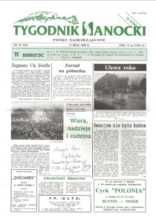 Tygodnik Sanocki, 1996, nr 20