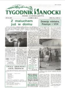 Tygodnik Sanocki, 1996, nr 32