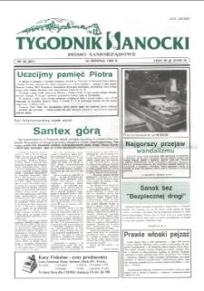 Tygodnik Sanocki, 1996, nr 35