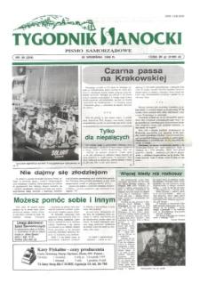 Tygodnik Sanocki, 1996, nr 38