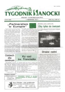 Tygodnik Sanocki, 1996, nr 40