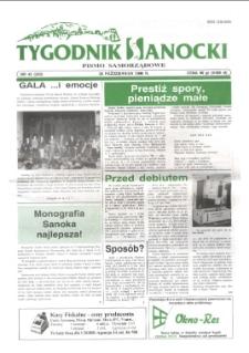 Tygodnik Sanocki, 1996, nr 43