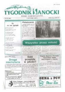 Tygodnik Sanocki, 1996, nr 45