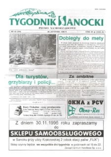 Tygodnik Sanocki, 1996, nr 48