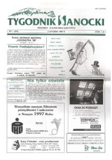 Tygodnik Sanocki, 1997, nr 1