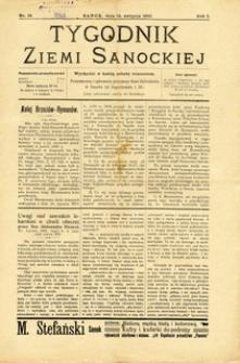 Tygodnik Ziemi Sanockiej, 1910, nr 16