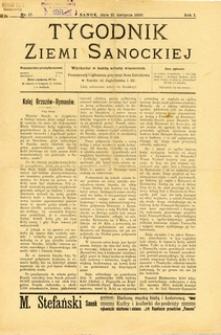 Tygodnik Ziemi Sanockiej, 1910, nr 17