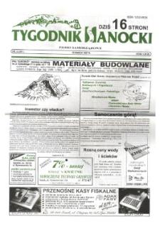 Tygodnik Sanocki, 1997, nr 13