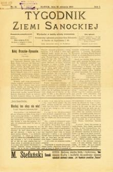 Tygodnik Ziemi Sanockiej, 1910, nr 18