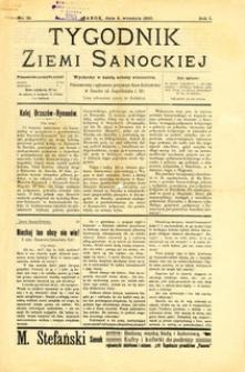 Tygodnik Ziemi Sanockiej, 1910, nr 19