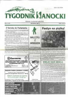 Tygodnik Sanocki, 1997, nr 33