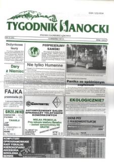 Tygodnik Sanocki, 1997, nr 38