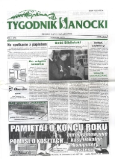 Tygodnik Sanocki, 1997, nr 51