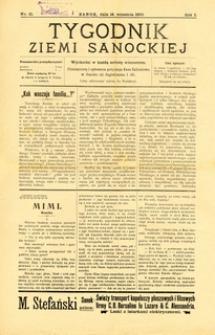 Tygodnik Ziemi Sanockiej, 1910, nr 21