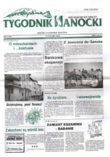 Tygodnik Sanocki, 1998, nr 5