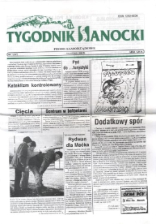 Tygodnik Sanocki, 1998, nr 7