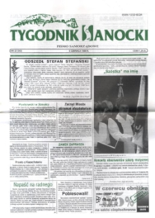 Tygodnik Sanocki, 1998, nr 23