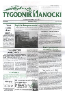 Tygodnik Sanocki, 1998, nr 24