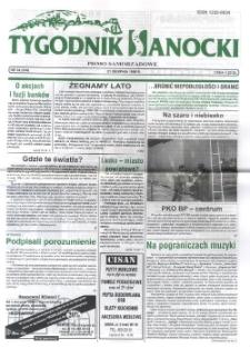 Tygodnik Sanocki, 1998, nr 34