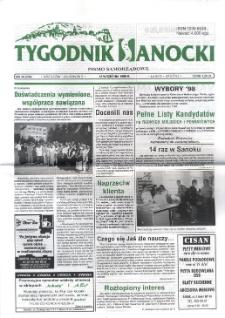 Tygodnik Sanocki, 1998, nr 38