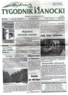 Tygodnik Sanocki, 1998, nr 47
