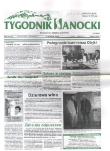 Tygodnik Sanocki, 1998, nr 50