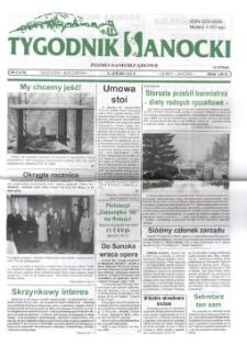 Tygodnik Sanocki, 1999, nr 6