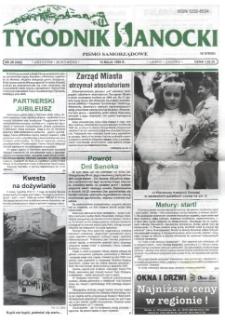 Tygodnik Sanocki, 1999, nr 20