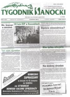 Tygodnik Sanocki, 1999, nr 33