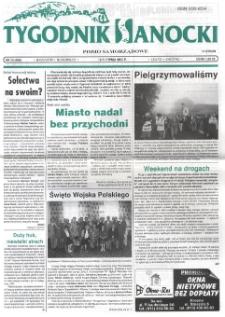 Tygodnik Sanocki, 2000, nr 33