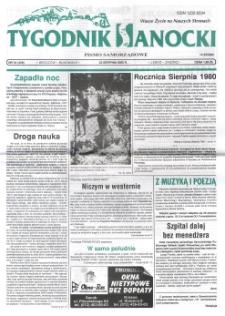 Tygodnik Sanocki, 2000, nr 34
