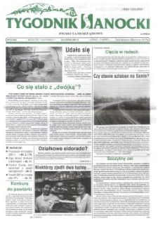 Tygodnik Sanocki, 2001, nr 8